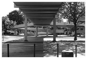 Brücke Ihmezentrum, Juni 2005