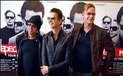 Depeche Mode freuen sich auf die Tour 2006