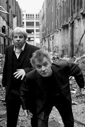 Christian Sölter & Holger Kirleis in schwarz-weiß