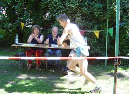 Titelverteidiger Olaf Lechtenfeld am Start