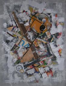 Hajo Kaulbars: 04, 2001, 75×100cm