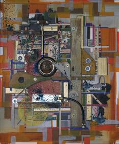 Hajo Kaulbars: o.T. [Schund in allen Variationen], 2002, 31×38cm