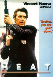 "Al Pacino als Vincent Hanna, Postkarte zu ""Heat"""
