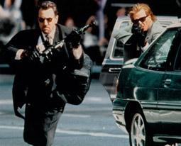 "Robert De Niro als Neil McCauley, Filmszene aus ""Heat"""