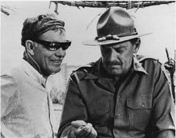 Sam Peckinpah und William Holden