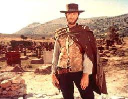 """""""Für eine Handvoll Dollar"""", Szenenfoto mit Clint Eastwood"""
