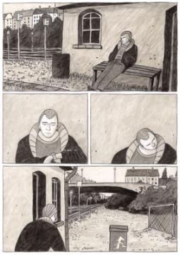 Comicstrip von Matthias Vogel