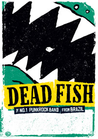 Ralf Rohde, Dead Fish-Tourposter