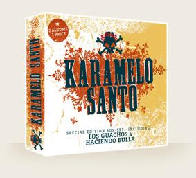 Ralf Rohde, CD-Cover für die argentinische Band Karamelo Santo