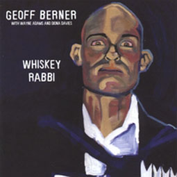 Geoff Berner - Whiskey Rabbi, Albumcover