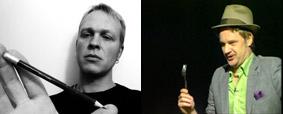 Hauke Voss und Kotelett Schabowski - Der Kulturkiosk, 24.04.09