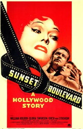 """Sunset Boulevard"", Originalplakat von 1950"