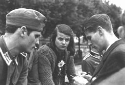 Hans Scholl, Sophie Scholl und Christoph Probst