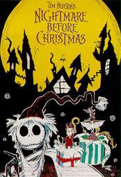 """Nightmare Before Christmas"", Plakatmotiv"