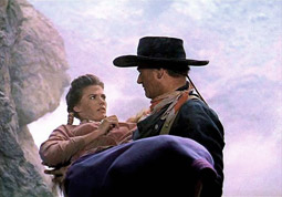 """The Searchers"", Filmszene"
