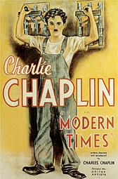 """""""Modern Times"""", Plakat zum Film"""