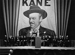 Kane auf Wahlkundgebung