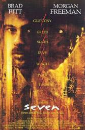 """""""Sieben"""", Filmplakat"""