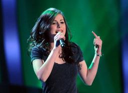 Lena singt