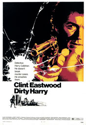 """Dirty Harry"", Plakatmotiv"