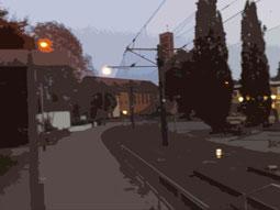 Bahnhaltestelle Mittelfeld