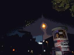 Leuchtlaternen am Himmel