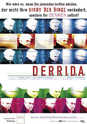 """Derrida"", Filmplakat"
