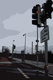Kreuzung auf der Vahrenwalder Straße