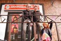 Jörg Smotlacha und Henning Chadde im Interview mit der Kollegin Susanne Haupt