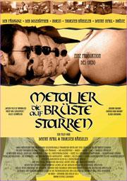 """Filmplakat """"Metaller die auf Brüste starren"""""""