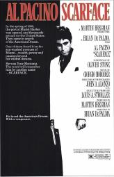 """Scarface"", Filmplakat"