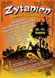 Zytanien Open Air 2014, Plakat
