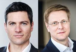 Ingo Zamperoni und Hendrik Brandt