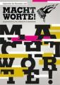 """Macht Worte!"" - Programm September-Dezember 2018"