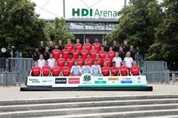 Hannover 96 - Mannschaftsfoto 2019/20