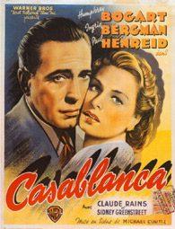 """Casablanca"", Filmposter"