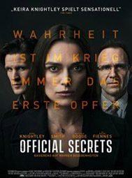 """Official Secrets"", Filmplakat"
