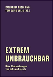 """Extrem unbrauchbar"", Buchcover"