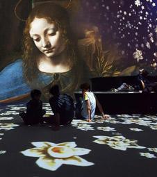 """""""Leonardos Welt. Da Vinci digital"""", Pressefoto"""