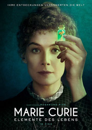 """""""Marie Curie - Elemente des Lebens"""", Filmplakat"""
