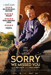 """Sorry We Missed You"", Filmplakat"