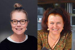 Die Übersetzerinnen Ursula Gräfe und Claudia Ott