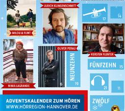 Adventskalender der Hörregion Hannover