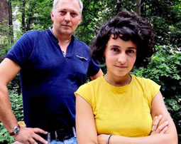 Massimo Perinelli und Lydia Lierke