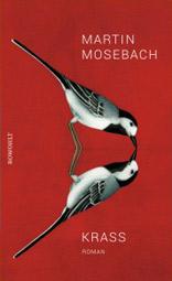 """Martin Mosebach: """"Krass"""", Buchcover"""