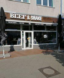 Beef and shake Außenansicht
