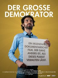 """""""Der große Demokrator"""", Filmplakat"""